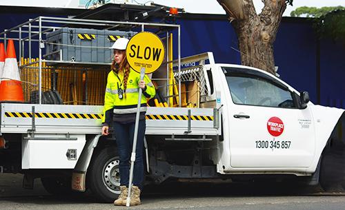 Workplace-Traffic_Traffic control woman